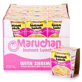 Maruchan Instant Lunch With Shrimp (2.25 oz., 24 ct.)