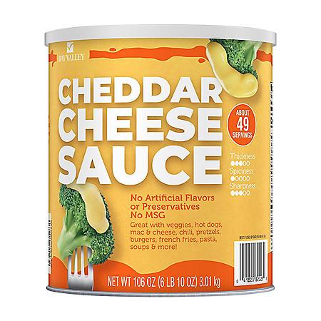 Bay Valley Cheddar Cheese Sauce (106 oz.)