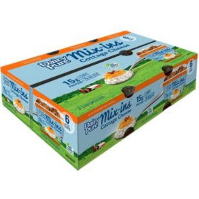 Dairy Pure Mix-ins Cottage Cheese, Peach Pecan (6 pk.)