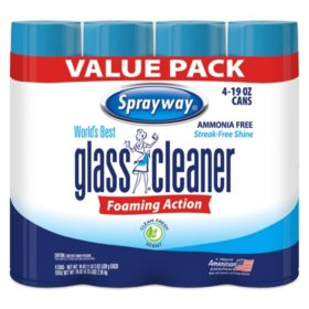 Sprayway Glass Cleaner (Choose Your Quantity)