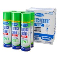 Sprayway All-Purpose Disinfectant Cleaner, 19 oz. cans (Choose Pack Size)