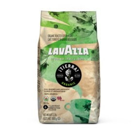 Lavazza Organic Tierra! Whole Bean Coffee Blend, Italian Roast (35.2 oz.)