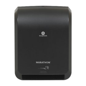 Marathon® Automated Paper Towel Dispenser, Black