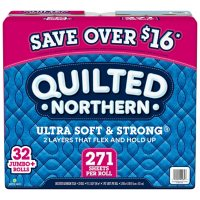 Quilted Northern Ultra Soft and Strong Toilet Paper 32 Ct Deals