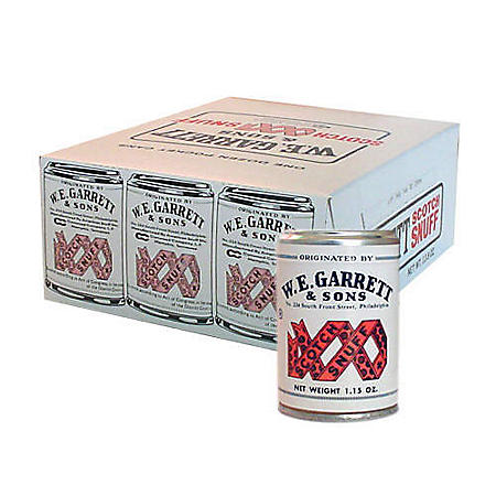 W, E. Garrett & Sons Scotch Snuff (1.15 oz. can, 12 ct.)