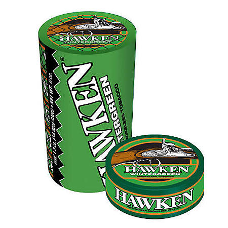 Hawken Wintergreen Moist Tobacco (1.2 oz. cans, 5 ct.)