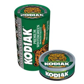 Kodiak Wintergreen Tobacco (5 cans)