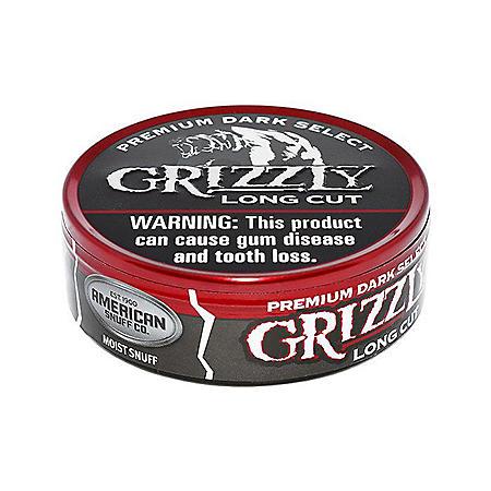 Grizzly Wintergreen Long Cut Tobacco 1 2 Oz Cans 5 Ct Sam S Club