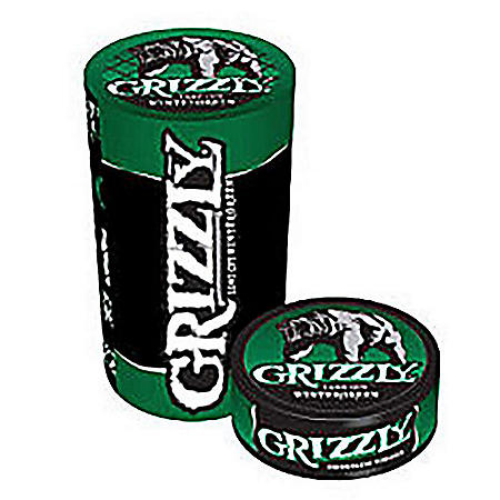 Grizzly Wintergreen Pouch, Pre-Priced (5 ct. roll)