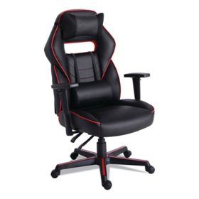 Alera Racing Style Ergonomic Gaming Chair, Assorted Colors