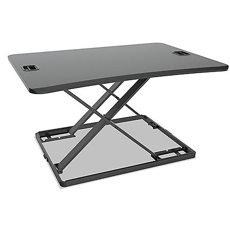 "Alera AdaptivErgo Ultra-Slim Sit-Stand Desk, 31 1/3"" x 22"" x 15 3/4"""