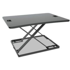 "Alera AdaptivErgo Ultra-Slim Sit-Stand Desk, 31 1/3"" x 22"" x 15 3/4"""