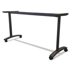 "Alera Valencia Series 58"" Training Table T-Leg Base, Black"