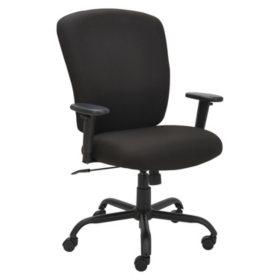 Alera Mota Series Big & Tall Chair, Black