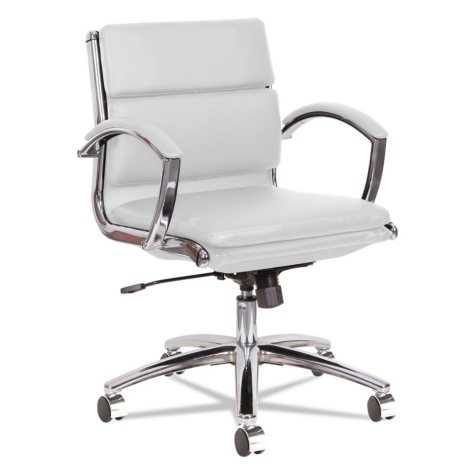 Alera Neratoli Series Low-Back Slim-Profile Chair, Select Color
