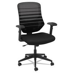 Alera Embre Series Mesh Mid-Back Chair, Select Color
