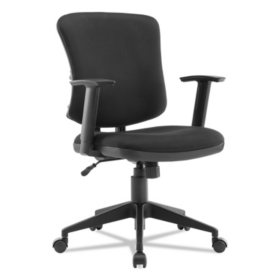 Alera Everyday Task Office Chair, Supports up to 275 lbs. (Black)