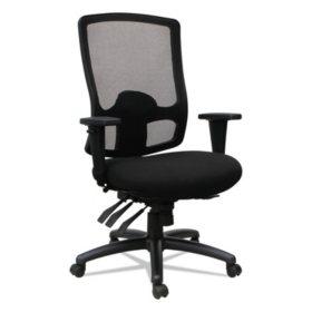 Alera Etros Series High-Back Multi-Function Chair (Black)