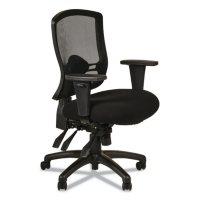 Alera Etros Series Mid-Back Multi-Function Chair (Black)