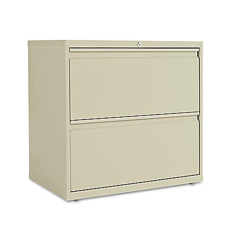 Alera Two-Drawer Lateral File Cabinet, 30w x 18d x 28h, Assorted Colors