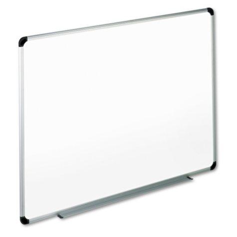"Office Impressions 36"" x 48"" Melamine Dry Erase Whiteboard, Aluminum Frame"