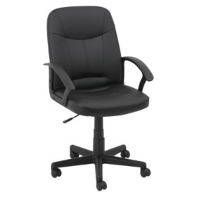 OIF Executive Office Chair, Supports up to 250 lbs. (Black)