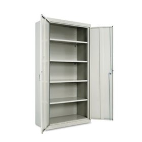"Alera 72"" High Storage Cabinet with Adjustable Shelves, Select Color"