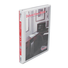"""Office Impressions - Economy View Binder, Round Ring - 1/2"""" - White"""
