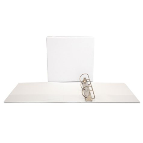 """Office Impressions - Economy View Binder, D-Ring, 3"""" - White"""