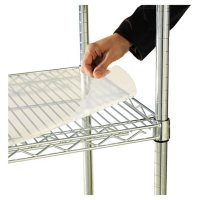 """Alera 36"""" x 24"""" Shelf Liners for Wire Shelving Units, Clear - 4 pack"""