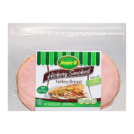 Sliced Hickory Smoked Turkey Breast (5 lbs.)