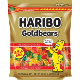 Haribo Gold-Bears Gummi Bear Candy (72oz.)