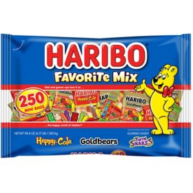 Haribo Favorite Mix Gummy Candy (250 ct.)