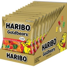 Haribo Gold Bears (5 oz., 12 pk.)