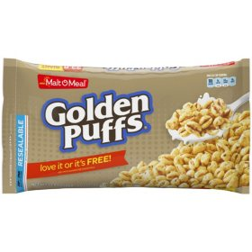 Malt-O-Meal Golden Puffs Cereal (33.8 oz.)