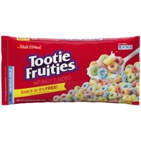 Malt-O-Meal Tootie Fruities Cereal (30 oz. bag)