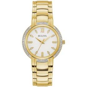 Bulova Women's Diamond Case Watch