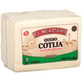 El Mexicano Queso Cotija (3.5 lb.)