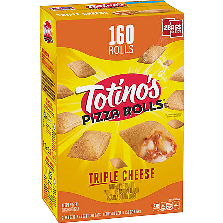 Totino's Pizza Rolls, Triple Cheese (160 rolls)