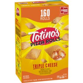 Totino's Triple Cheese Pizza Rolls, Frozen (160 rolls)