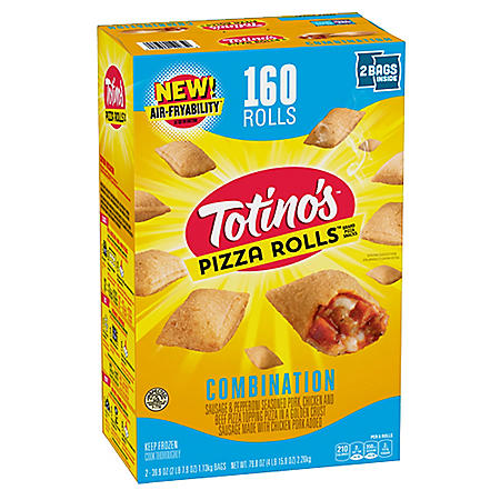 Totino's Combination Pizza Rolls, Frozen (160 ct.)