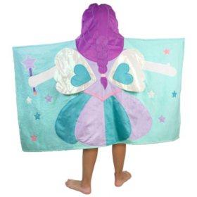 Kids' Hooded Bath Towel (Assorted Patterns)