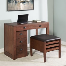 Stakmore Expanding Desk with Ottoman