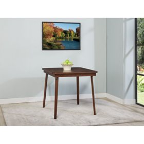"Stakmore 32"" x 32"" Wood Folding Table"