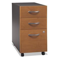 Bush Series C 3-Drawer Mobile Pedestal, Select Color