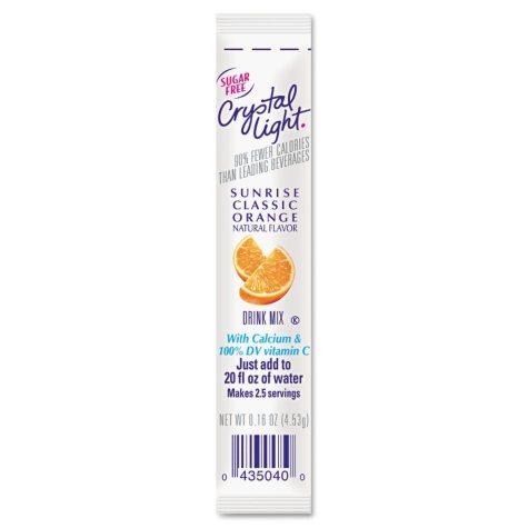 Crystal Light On The Go Drink Mix, Sunrise Classic Orange (.16 oz. packet, 30 pk.)