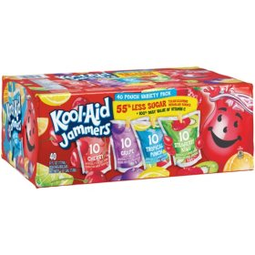 Kool-Aid Jammers Variety Pack (6 oz. Pouches, 40 ct.)