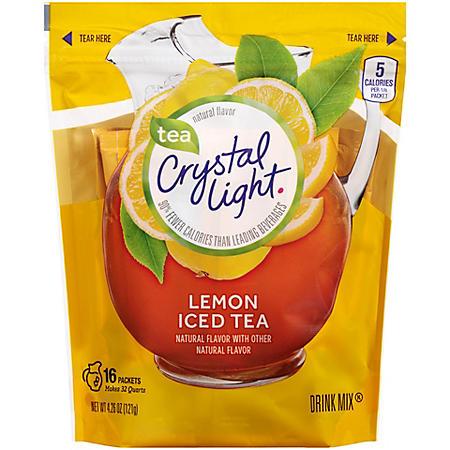 Crystal Light Lemon Iced Tea Powdered Drink Mix (3.8 oz., 16 pk.)