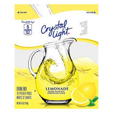 0004300003393aimgsize233x233 crystal light sugar free lemonade mix makes 32 quarts aloadofball Images