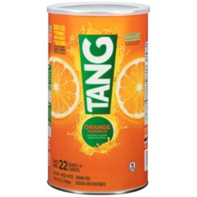 Tang Orange Drink Mix, 72oz Cannister (makes 22 qts.)